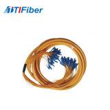 Gran cantidad OS1/OS2/OM1/OM2/OM3/OM4 Cable de conexión de fibra óptica de multi-core