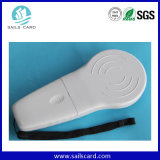 Leitor animal Handheld da escala longa do microchip RFID do ISO 11784/785