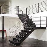 Baranda de escalera de 304 escaleras de varilla de acero inoxidable pasamanos