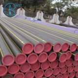 HDPEの物質的なプラスチック地下か埋められたガス管