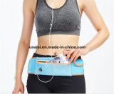 連続したベルトのスポーツの適性のパックベルトの袋の反射ウエスト袋