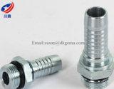 ISO 11926 SAE J1926 del sello del anillo o de 16011 que ajusta SAE que ajusta la guarnición de manguito de goma del petróleo recto flexible hidráulico de la cuerda de rosca masculina