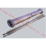 Un alto rendimiento Nitrided único tornillo barril para el PVC