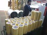 Las cintas de filamentos de la Cruz adhesivo Máquina de embalaje retráctil