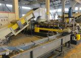 Pellicola agricola della plastica dell'HDPE del LDPE a due fasi che ricicla la macchina dell'espulsione