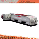 補強された二重シャフトのミキサーの押出機の赤レンガ機械
