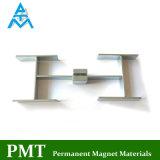 N38sh 60X16X2.5mm de Magneet van NdFeB van de Staaf van het Blok met het Magnetische Materiaal van het Neodymium