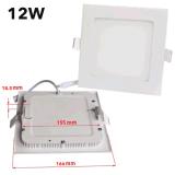Beleuchten ultra dünnes Quadrat vertiefte 6W LED unten