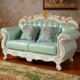 Живущий софа комнаты с таблицей для домашней мебели (619BA)