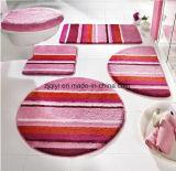 洗面所の敷物滑り止めの洗濯できる5部分の浴室の