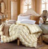 O pato enorme macio branco por atacado do hotel da tela de algodão empluma-se para baixo o Duvet