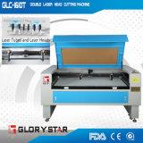 Gebildet China-in der doppelten Laser-Hauptlaser-Ausschnitt-Maschine