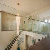 Рельсовая система балюстрады Tempered стекла Frameless качества/ограждать & стробы стекла