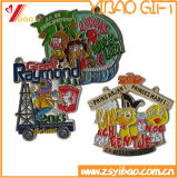 Metal epoxi personalizado insignia de solapa (YB-LY-LP-02)