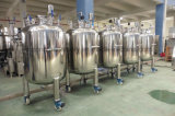 El tanque sanitario del agua de alimentación del acero inoxidable