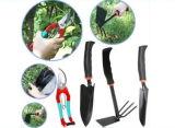 l'insieme di strumento del giardino 4PCS, il Trowel, il rastrello e potare Scissor