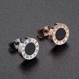 新しい卸し売り方法宝石類のステンレス鋼のスタッドのイヤリング