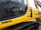 Komatsu PC220-6 Bom preço utilizado construção escavadora de rastos Hidráulico