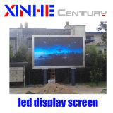 Farbenreiche Bildschirmanzeige-Panel-im Freienbekanntmachen LED-Bildschirmanzeige LED-P6