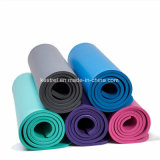 Non-Slip ecológica de caucho TPE Natural Cork estera del yoga