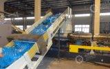 Paso dos película de la granja de la extrusora de plástico bolsas grandes de la máquina de peletización