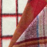 コートのための混ぜられた冬によって編まれる重いウールファブリック、ツイードのウールファブリック、毛織ファブリック