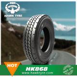 Hawk usine de pneumatiques avec tous les pneus de qualité Certificationhigh TBR avec tube & Rabat