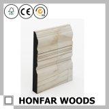 Panneau de bordage colonial en bois solide de type pour le décor de plancher