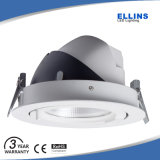 Garantie de 3 ans l'éclairage commercial Downlight Led