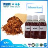Saveurs concentrées de tabac