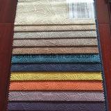 Tessuto del velluto di Burnout di Polyster di disegno del fornitore della Cina nuovo per il sofà