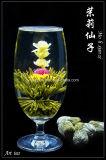 Blooming le thé vert (Fleur de thé, de l'art du thé) Norme de l'UE