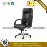 편리한 금속 기초 높은 뒤 가죽 사무실 행정상 의자 (HX-8046A)