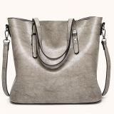 صناعة [هوتسل] جديدة بسيط تصميم حقيبة يد كبيرة حجم نساء يحزم [توت بغ] من [غنغزهوو] مصنع مع مقبض مزدوجة [س8555]