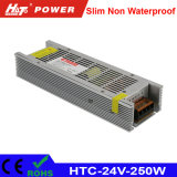 alimentazione elettrica di 24V 10A LED con le HTC-Serie della Banca dei Regolamenti Internazionali di RoHS del Ce