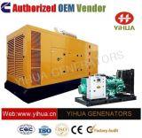 elektrischer Strom-leiser Dieselgenerator 165 KVA-Cummins [IC180309K]