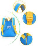 2-6 personalização feita sob encomenda do logotipo da cópia da trouxa da escola do bebê do pinguim dos desenhos animados do miúdo da escola dos anos de idade