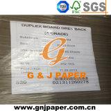 papier de panneau de la carte 350g dure avec le dos de gris à vendre