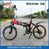 """접히는 전기 자전거 20 """""""" Li 이온 건전지 세륨 En15194"""