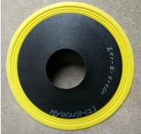 Cono de papel amarillo del altavoz del cono del altavoz