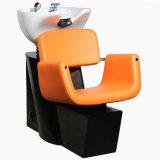 브라운 머리 꼭지를 가진 세척 의자 침대 샴푸 단위