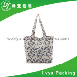 OEM Produce Customized Logo Printed Cotton Canvas Craft Tote Bag