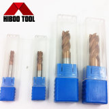 Cortadores de trituração do elevado desempenho para máquina-ferramenta com revestimento de Tisin