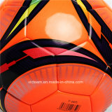 Nuevo FAVORABLE balón de fútbol de cuero genuino de la talla estándar