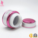 包装の使用のための美しい円形の化粧品PPのクリーム色の瓶