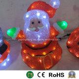 Doll van Kerstmis van de Giften van Kerstmis van de Kerstman Licht Uitzendend