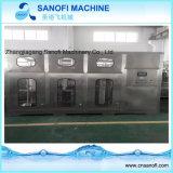 Terminar la línea de relleno máquina del agua de botella de 5 galones