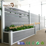 木製のプラスチック合成物WPCの電気庭の塀