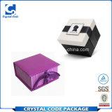 Caja de cartón cuadrada del color de la alta calidad