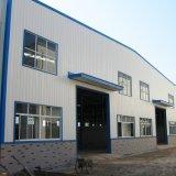 Estructura de acero Panel Sandwich Taller con la puerta de rodadura